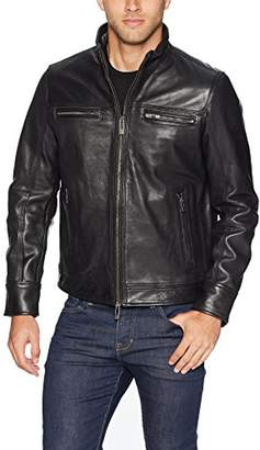 Rogue Men's Leather Vintage Moto Jacket
