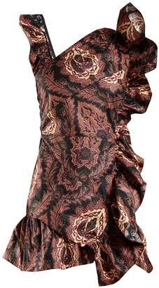 Isabel Marant Malvern ruffle-trimmed floral-print cotton dress