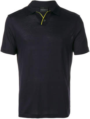 Emporio Armani classic navy polo shirtclassic
