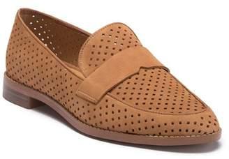Franco Sarto Hilton Perforated Leather Loafer