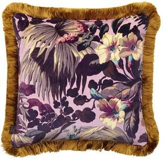 Limerence Rose Quartz Fringed Pillow