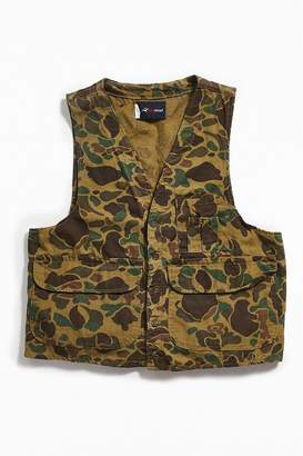 Urban Outfitters Vintage Vintage RedHead Camo Hunting Vest