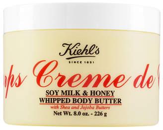 Kiehl's Creme de Corps Soy Milk & Honey Whipped Body Butter, 8.0 oz.
