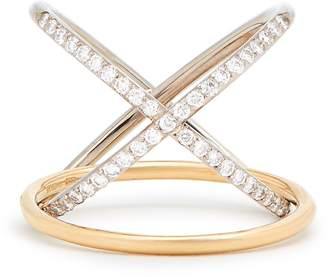 Charlotte Chesnais FINE JEWELLERY XO diamond & gold ring
