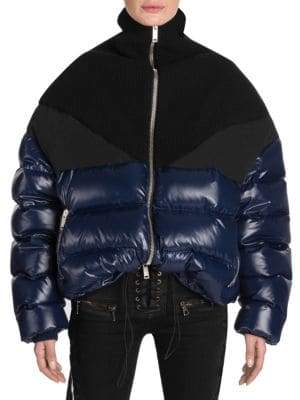 Taverniti So Ben Unravel Project Shiny Hybrid Down Puffer Jacket