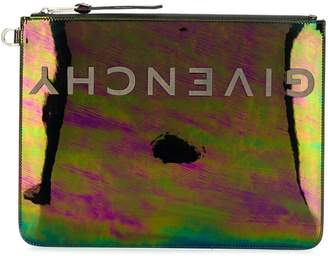 Givenchy large reversed logo clutch