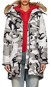 Canada Goose Women's Rossclair Camouflage Tech-Faille Parka