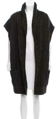 Alice + Olivia Oversize Cable Knit Vest