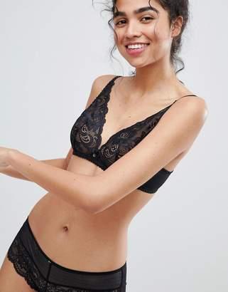 Gossard lacey triangle bra