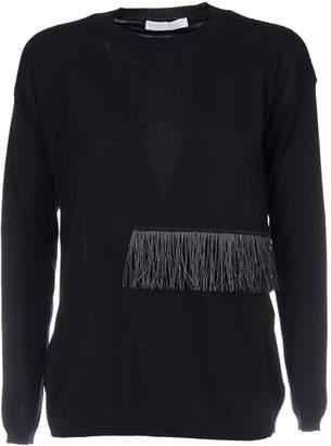 Fabiana Filippi Fringe Detail Sweatshirt
