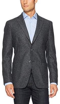 Bugatchi Men's Wool Blend Four Button Solid Blazer