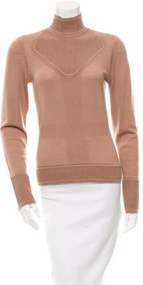 Rachel Roy Wool Mock Neck Top $85 thestylecure.com