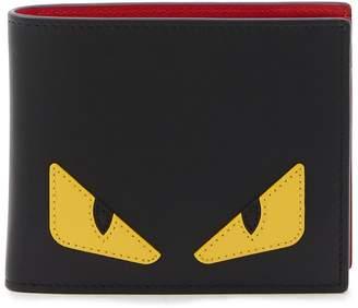 Fendi Bugs leather wallet