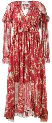 Zimmermann Corsair Iris Cape Dress