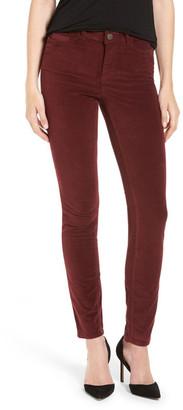 M.i.h Jeans Velvet Skinny Pant $225 thestylecure.com