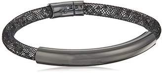 Kenneth Cole New York Hematite Items Hematite Bar with Mesh Tube Bracelet