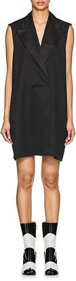 MM6 MAISON MARGIELA Women's Twill Tuxedo Shift Dress