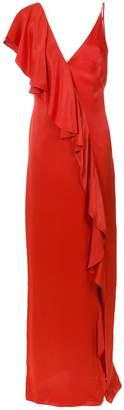 Tufi Duek ruffled detailing gown