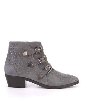 fa34e6ab56b Grey Stacked Heel Boots For Women - ShopStyle UK