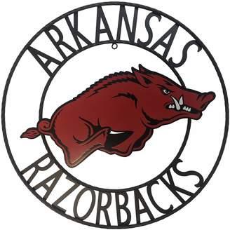 Arkansas Razorbacks 24-Inch Wrought Iron Wall Decor