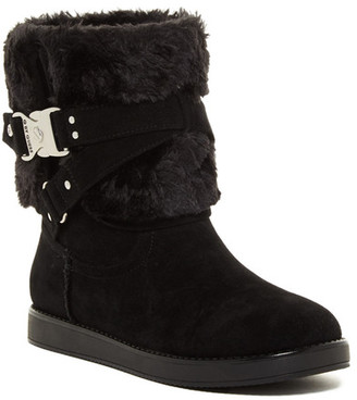 G by GUESS Ashlee Faux Fur Boot $69 thestylecure.com