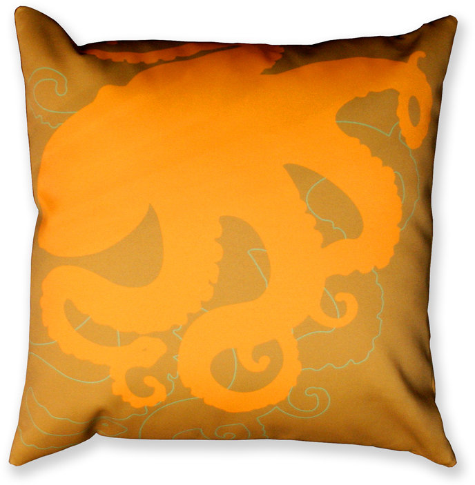 jefdesigns Home Octopus Pillow