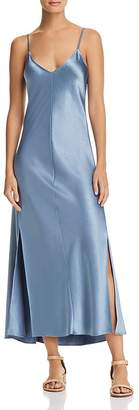Theory Satin Slip Dress