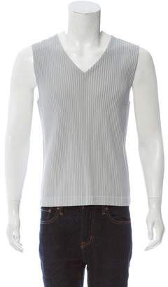 Issey Miyake HOMME PLISSÉ Pleated Sleeveless Top