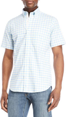Tailorbyrd Check Trim Fit Shirt