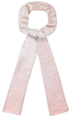 Debenhams The Collection - Pink Glittery Ombre Scarf