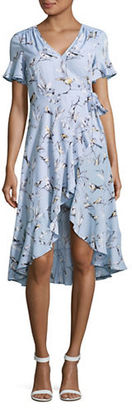 Highline Collective Floral Printed Tea Dress $119 thestylecure.com