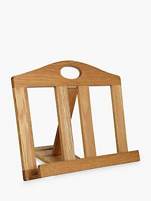 John Lewis & Partners Oak Cookbook Stand