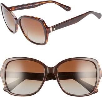 Kate Spade Karalyns 56mm Oversized Sunglasses