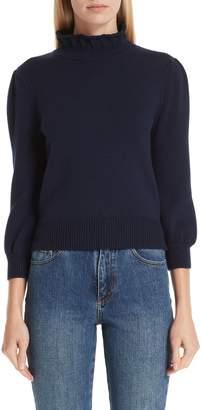 Co Mock Neck Wool Sweater