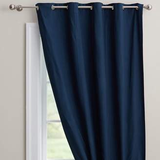 Pottery Barn Teen Classic Grommet Blackout Curtain, 108&quot, Navy