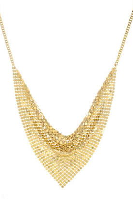 A.V. Max Chain-Mail Disco Necklace
