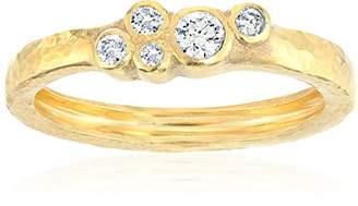 Gurhan Pointelle Diamond Diamond Cluster Ring