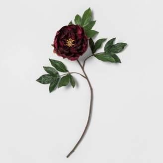 "Opalhouse 24"" Artificial Peony Flower Stem Purple - Opalhouse"