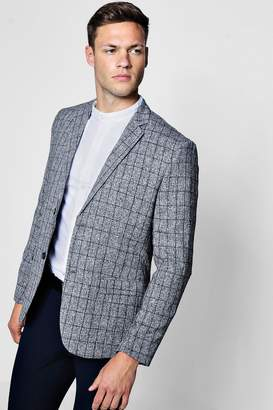 boohoo Skinny Fit Textured Jacket