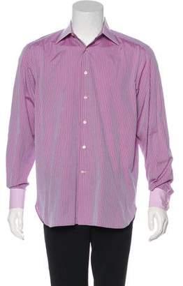 Stefano Ricci Striped Dress Shirt