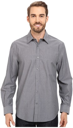 Perry Ellis Non-Iron Chambray Stripe Shirt $59.99 thestylecure.com