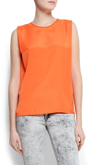 MANGO Oversized sleeveless top