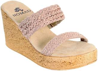 NOMAD Wedge Slide Sandals - Newport