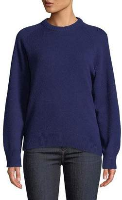 Theory Crewneck Cashmere Pullover Sweatshirt