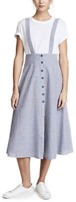 BB Dakota Latifah Striped Skirt