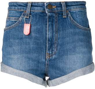 Philosophy di Lorenzo Serafini denim patch shorts