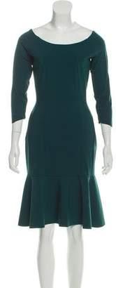 Chiara Boni Knee-Length Long Sleeve Dress w/ Tags