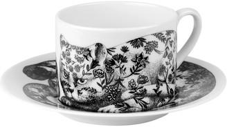Fornasetti High Fidelity Teacup & Saucer - Fiorato