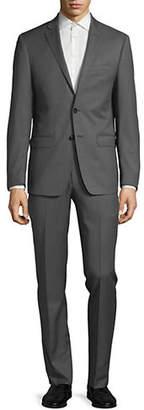 Calvin Klein X-Fit Slim Wool Suit