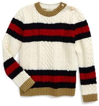 Gucci Wool Stripe Sweater